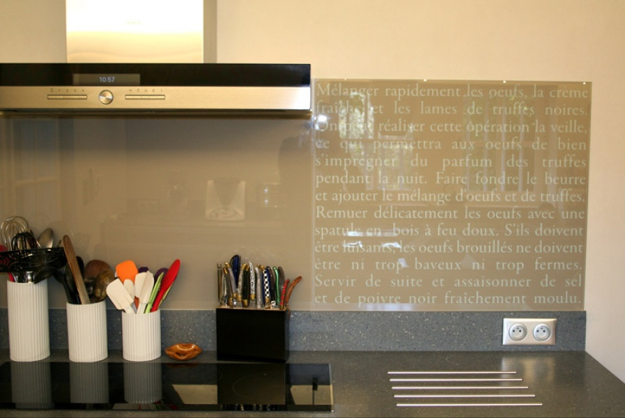cr dences mobilier st phanie lebreton r alisation sur verre. Black Bedroom Furniture Sets. Home Design Ideas