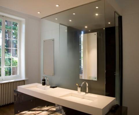 Parois de douche st phanie lebreton r alisation sur verre for Paroi salle de bain
