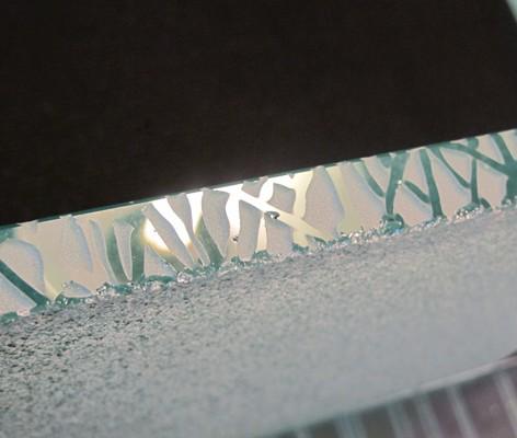 Verre sabl sablage de verre gravure sur verre par sablage - Sable de sablage castorama ...